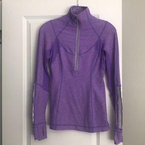 Lululemon Half Zip Lavender Jacket